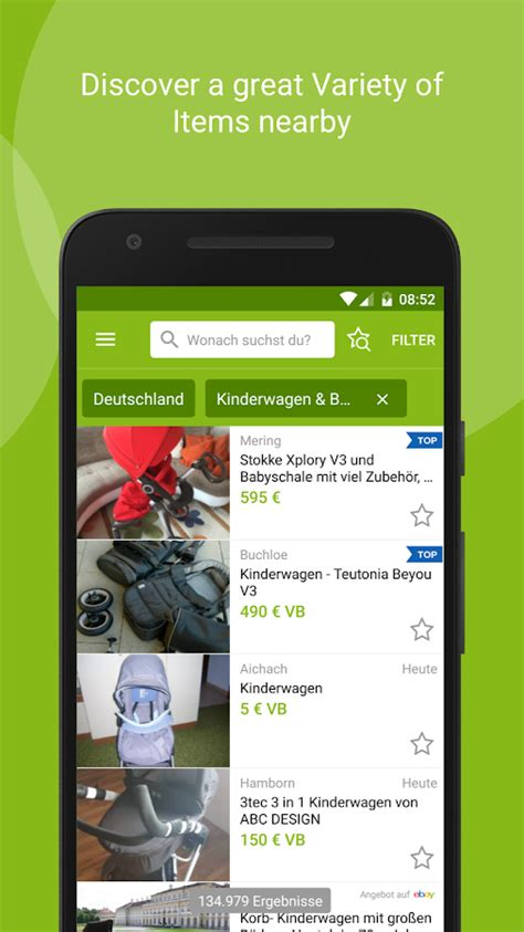 eBay Kleinanzeigen for Germany - Android Apps on Google Play