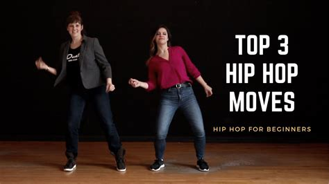 Top 3 Hip Hop Moves for Beginners - YouTube