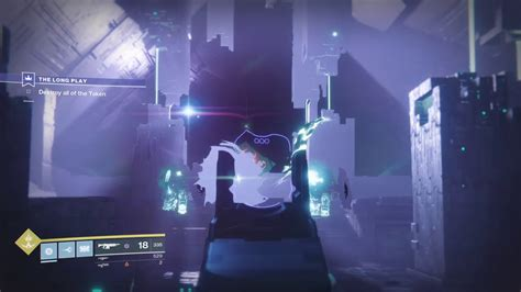 Destiny 2 - anteater Errors on The Long Play Quest Mission