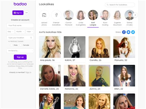 Badoo's New Feature Lets You Date Celebrity Lookalikes